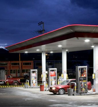 GAS STATIONS IN COLOMBIA
